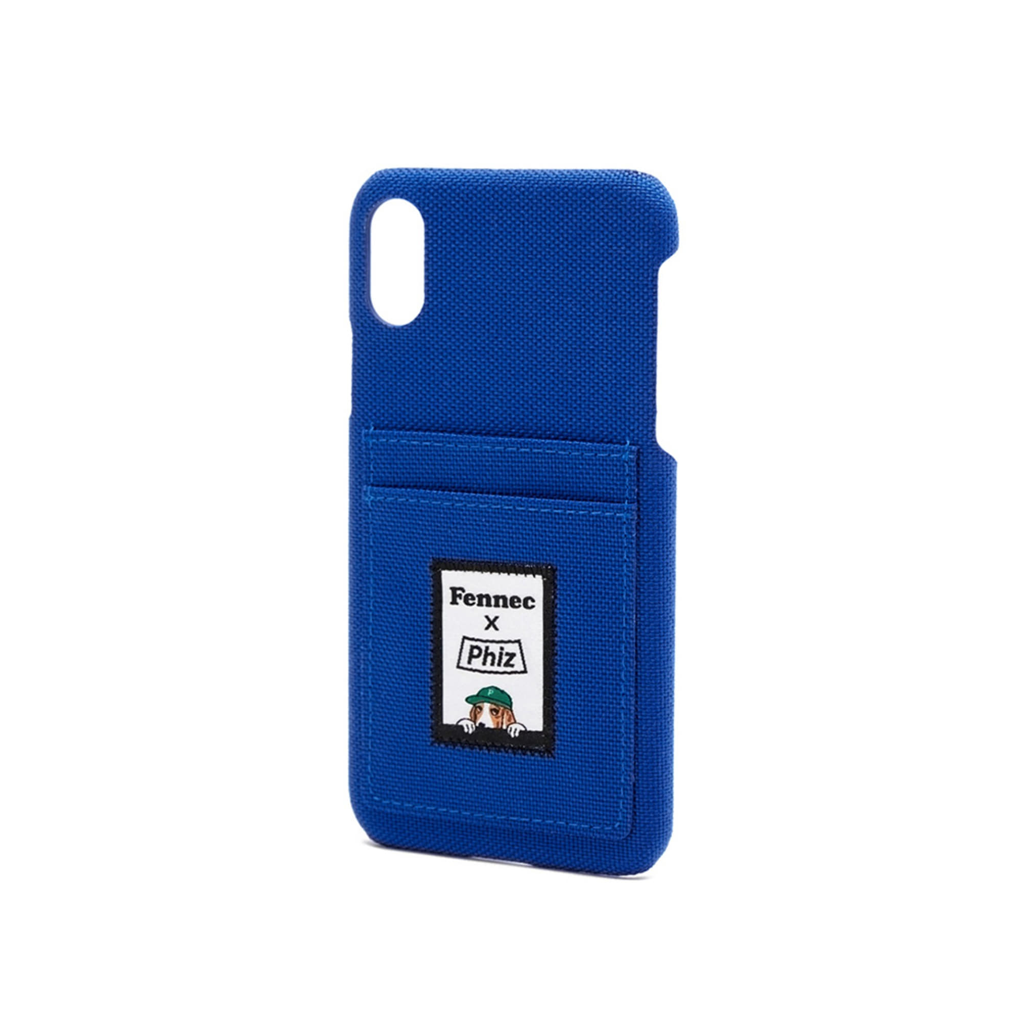 FENNEC X PHIZ C&S iPHONE X/XS CARD CASE - BLUE