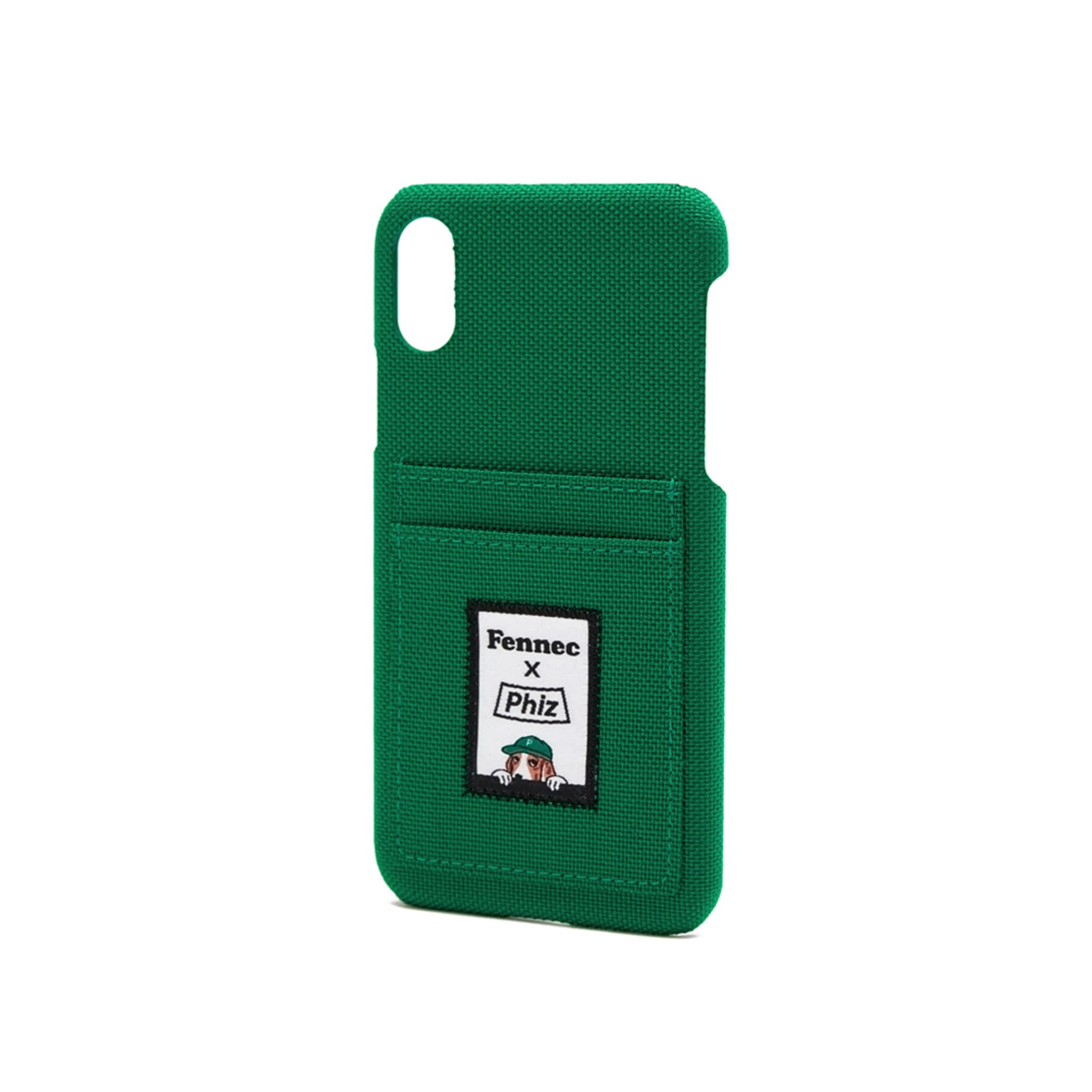 FENNEC X PHIZ C&S iPHONE X/XS CARD CASE - GREEN