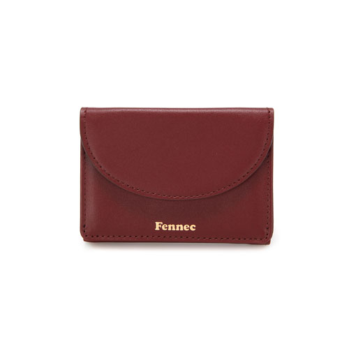 HALFMOON MINI WALLET - SMOKE RED
