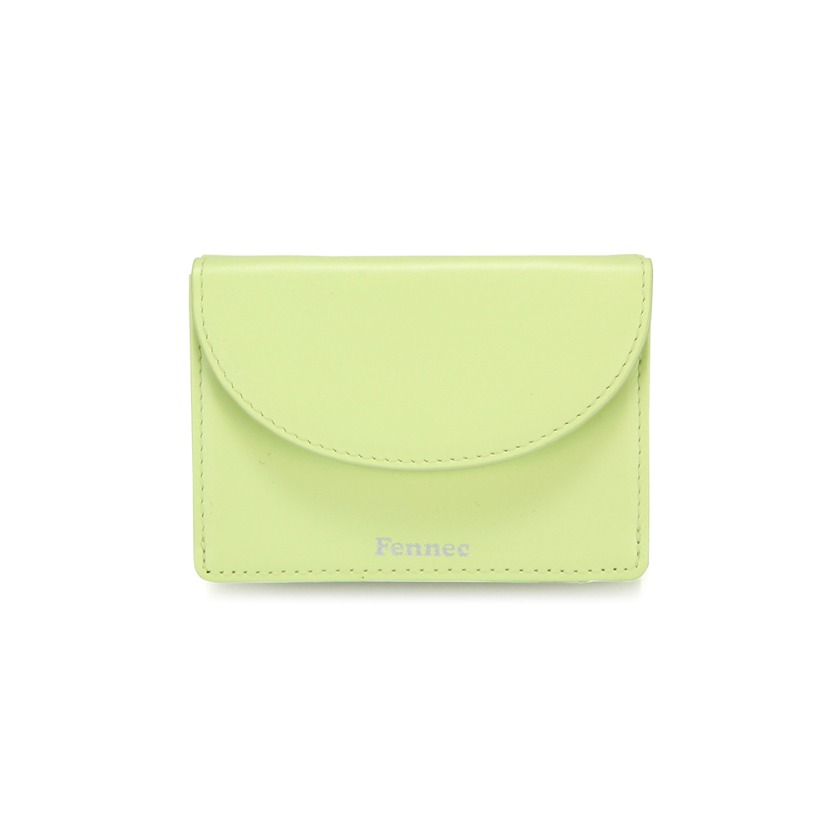 [3/30 예약배송]HALFMOON MINI WALLET - LIME