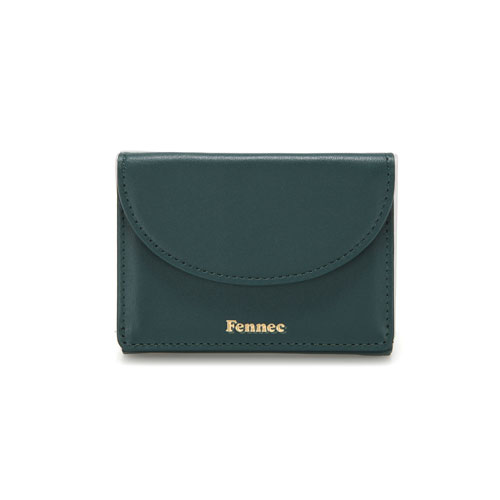 [3/30 예약배송]HALFMOON MINI WALLET - MOSS GREEN