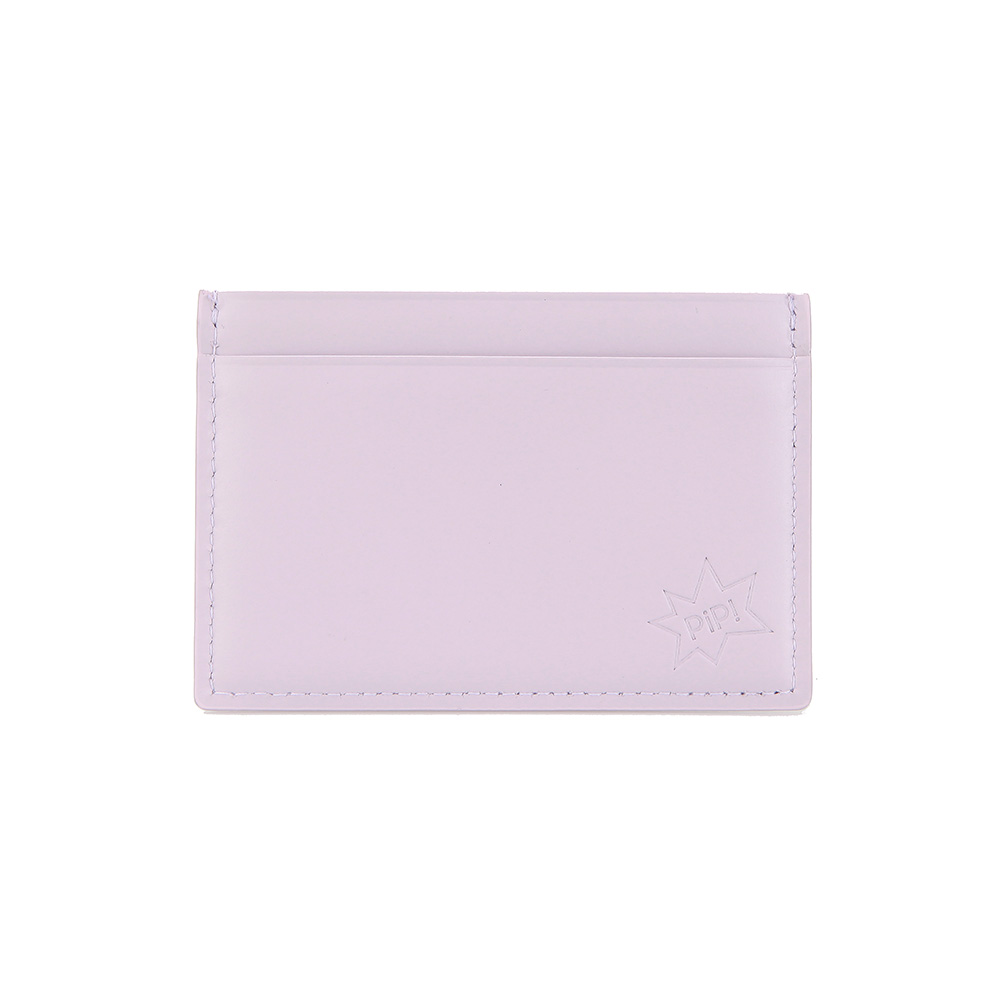 [DISCONTINUE] PIP! CARD CASE - LIGHT VIOLET