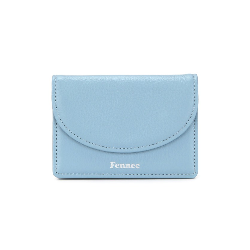 HALFMOON ACCORDION POCKET - FOG BLUE