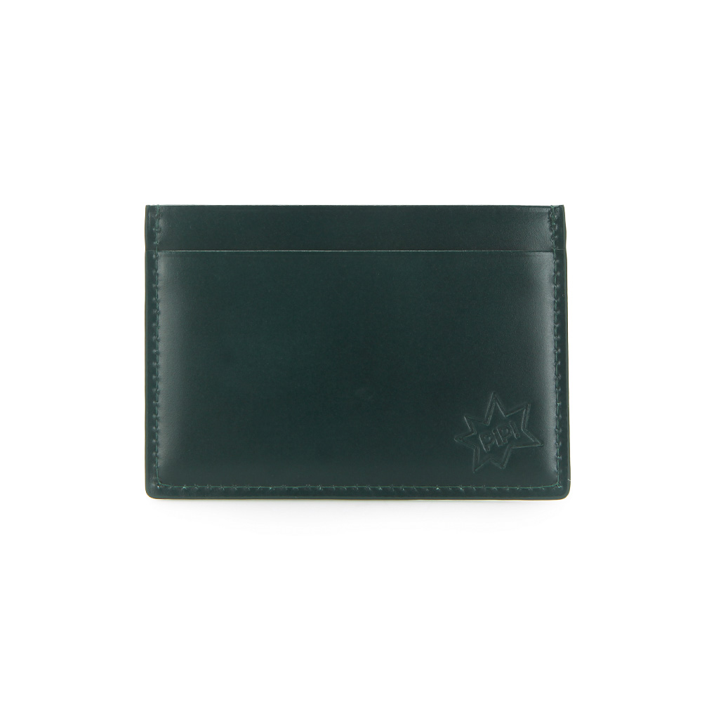 [DISCONTINUE] PIP! CARD CASE - MOSS GREEN