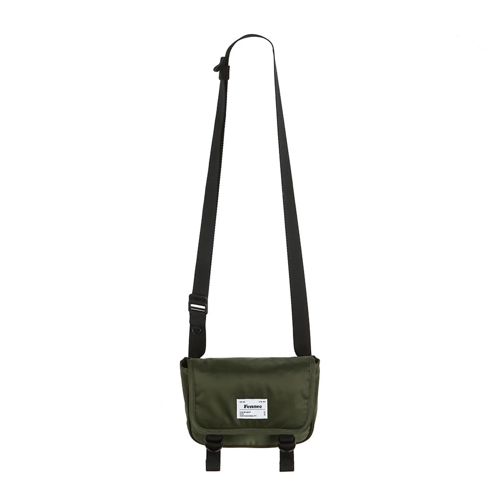 [11/6 예약배송]C&S PADDED MINI MESSENGER BAG - KHAKI