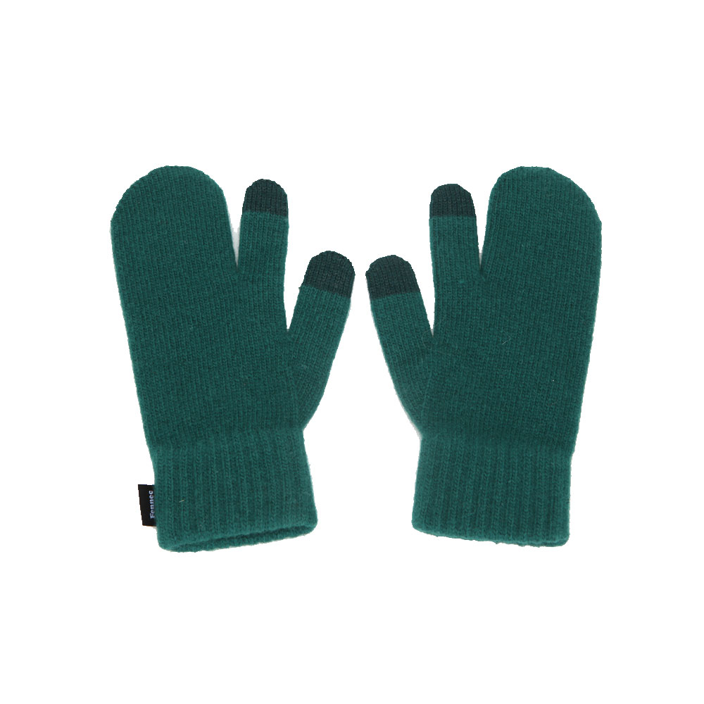 KNIT TIMI GLOVES_ver.3 - GREEN