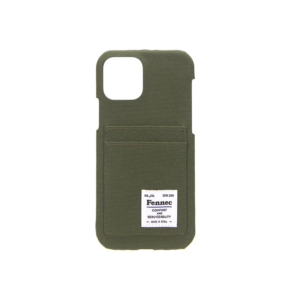 C&S IPHONE 12 / 12 PRO CARD CASE - KHAKI