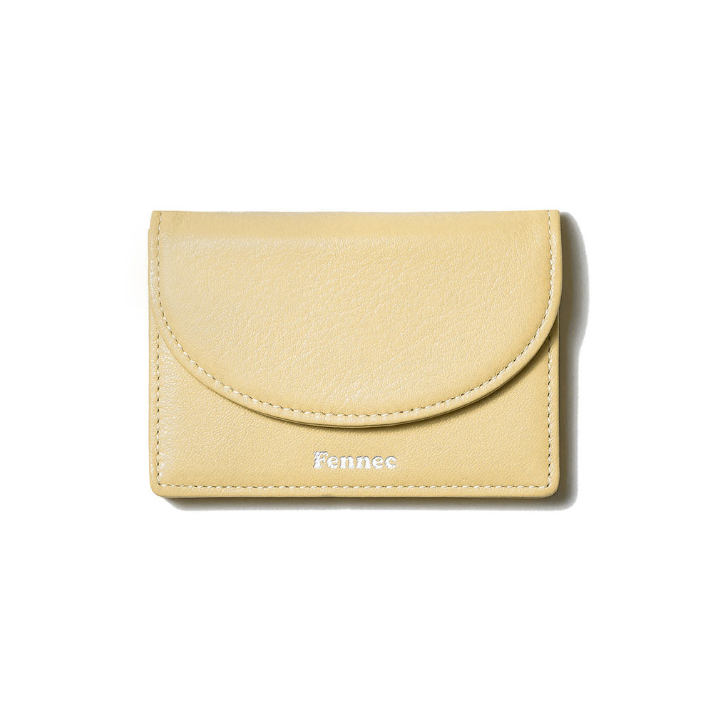 [21SS] HALFMOON ACCORDION POCKET - TINT YELLOW