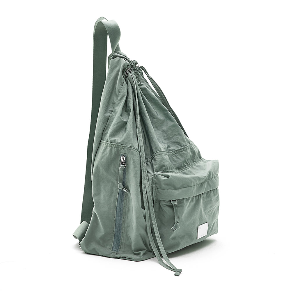 [4/19 예약배송][21SS] DRAWSTRING BACKPACK - MINT