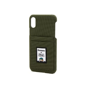 FENNEC X PHIZ C&S iPHONE X/XS CARD CASE - KHAKI