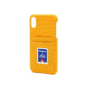 FENNEC X PHIZ C&S iPHONE X/XS CARD CASE - YELLOW
