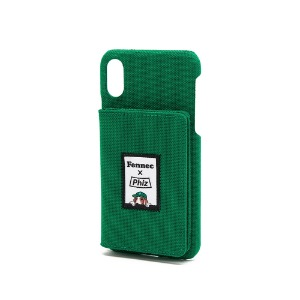 FENNEC X PHIZ C&S iPHONE X/XS POCKET CASE - GREEN