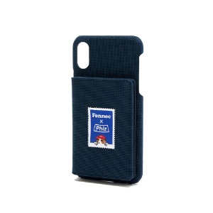 FENNEC X PHIZ C&S iPHONE X/XS POCKET CASE - NAVY