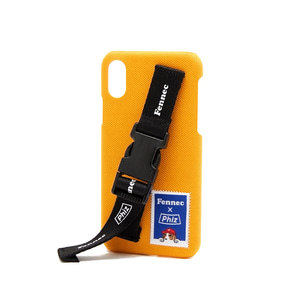 FENNEC X PHIZ C&S iPHONE X/XS STRAP CASE - YELLOW