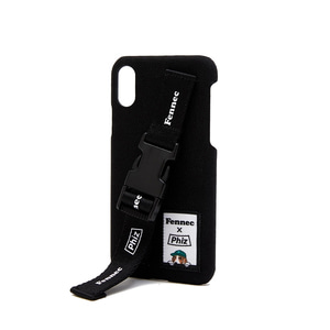 FENNEC X PHIZ C&S iPHONE X/XS STRAP CASE - BLACK