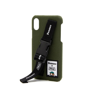 FENNEC X PHIZ C&S iPHONE X/XS STRAP CASE - KHAKI