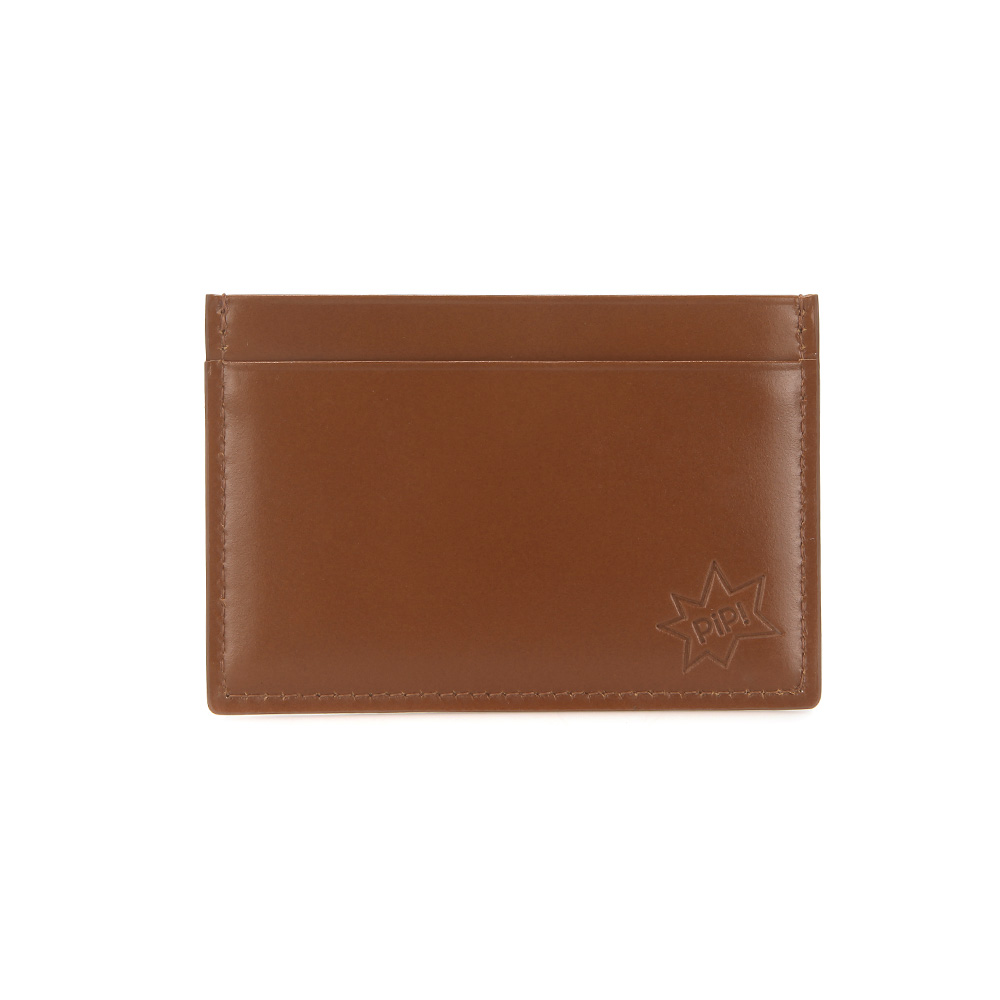 [DISCONTINUE] PIP! CARD CASE - BROWN