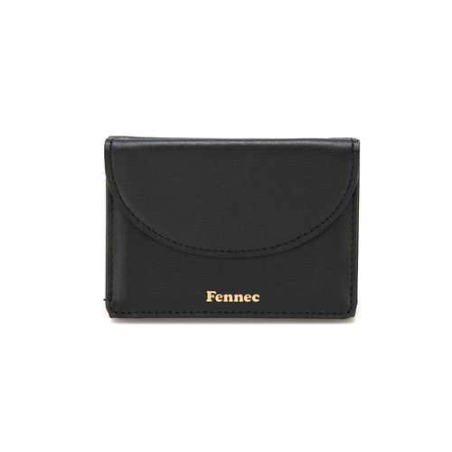 [3/22 예약배송]HALFMOON MINI WALLET - BLACK