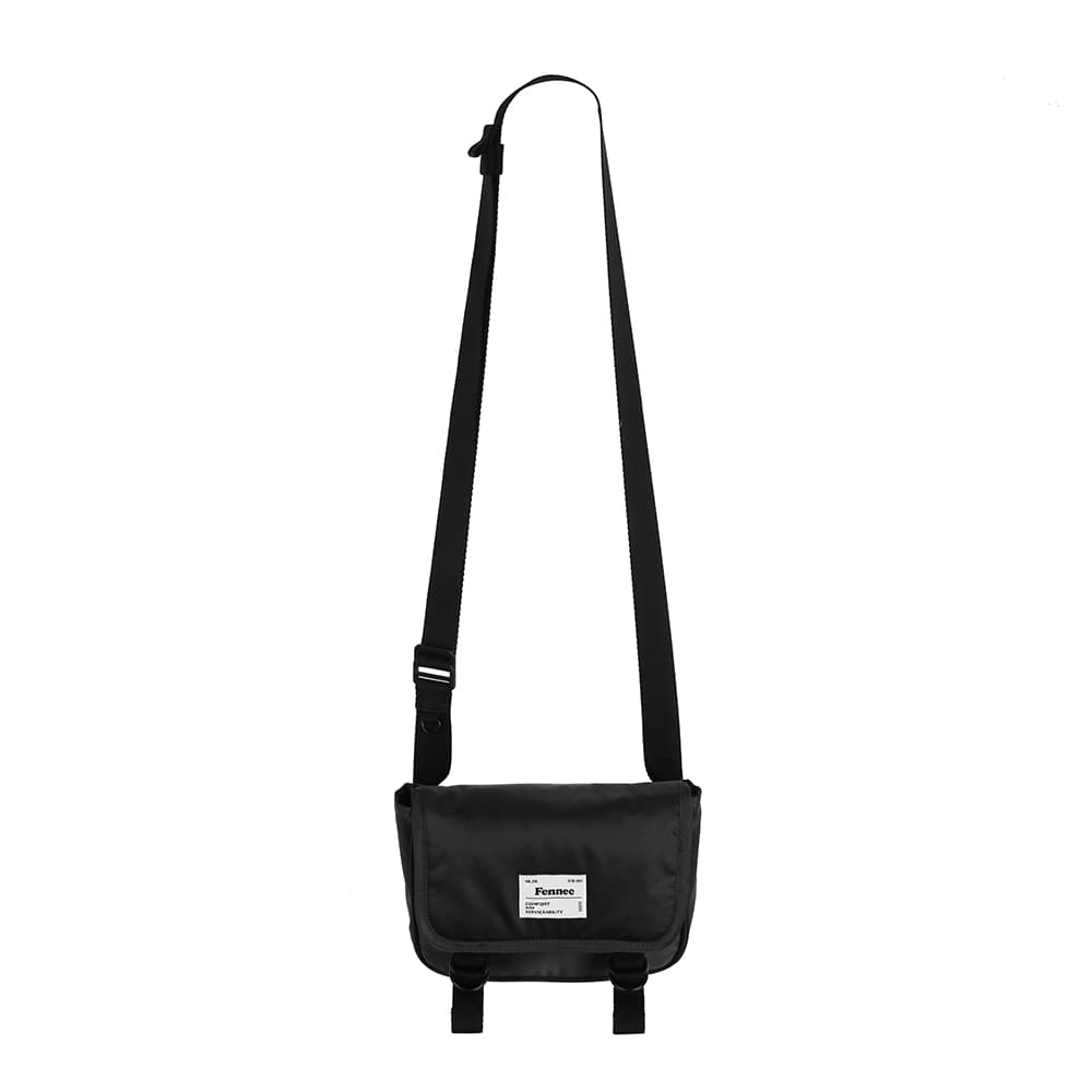 [11/6 예약배송]C&S PADDED MINI MESSENGER BAG - BLACK