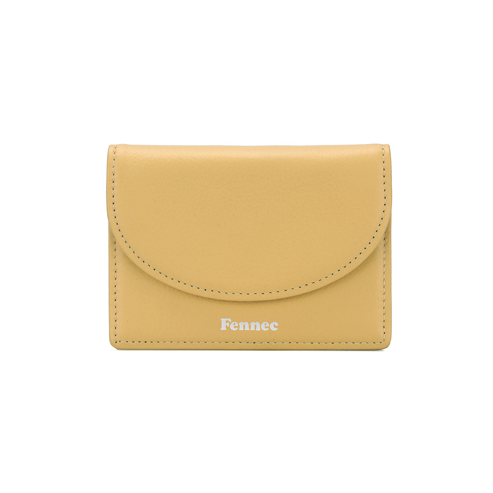 HALFMOON ACCORDION POCKET - HAZE YELLOW