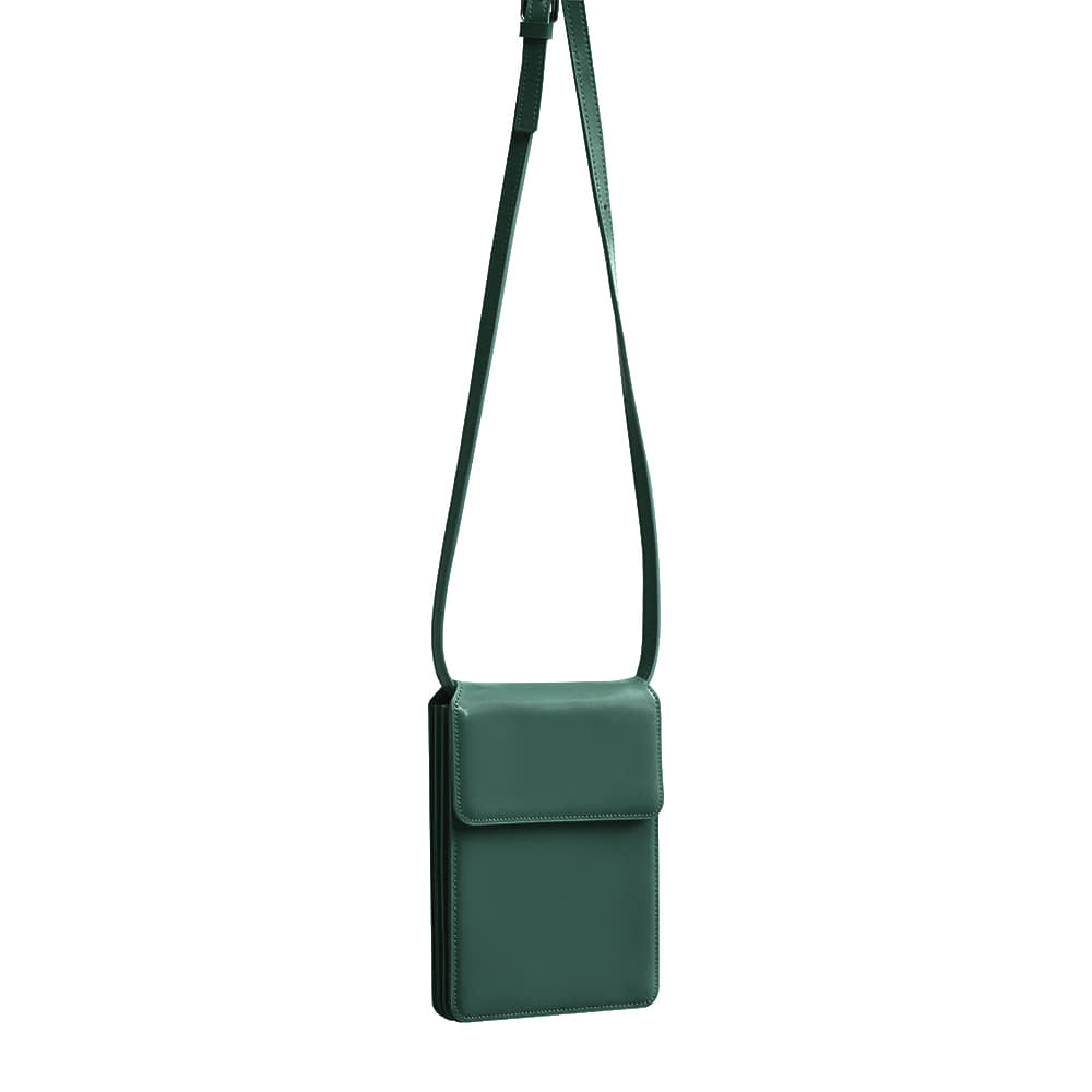 ACCORDION BAG - FOREST KHAKI