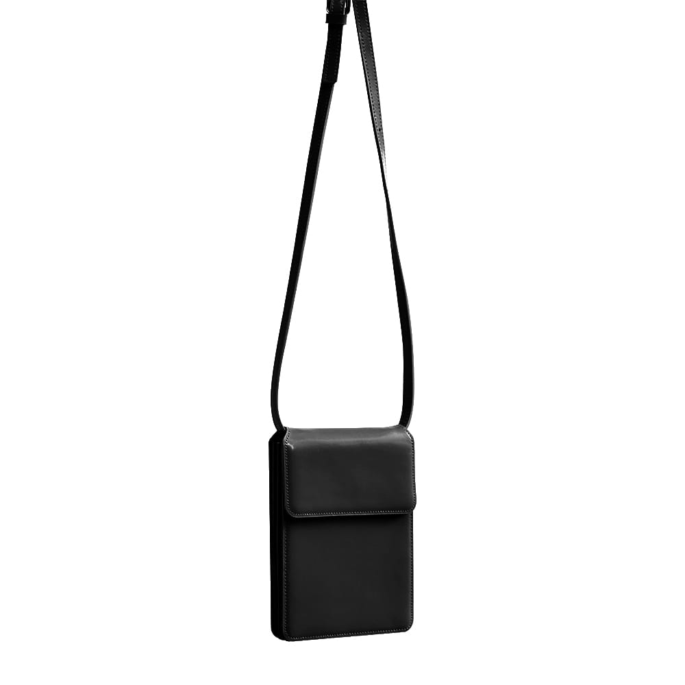 ACCORDION BAG - BLACK