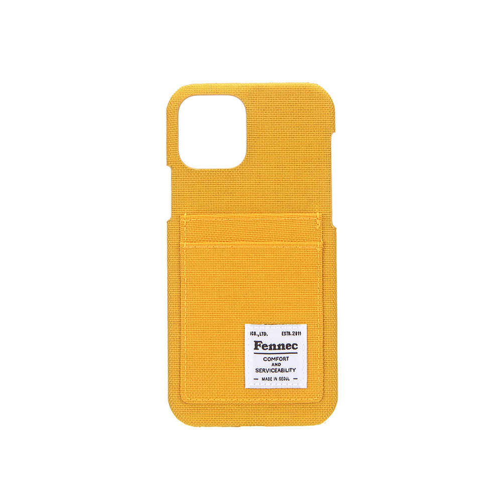C&S IPHONE 12 / 12 PRO CARD CASE - YELLOW