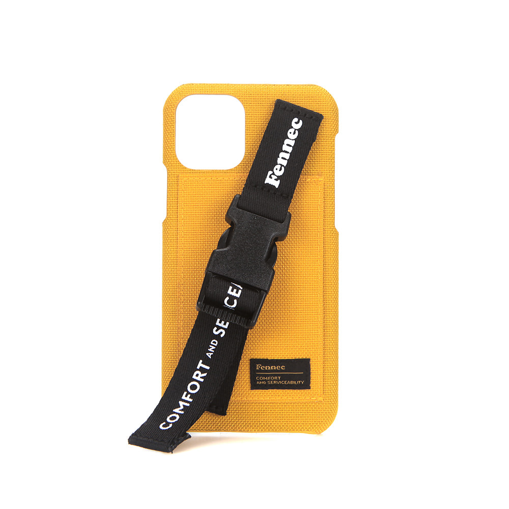 [21SS] C&S IPHONE 12/12 PRO HANDLE STRAP CASE - YELLOW